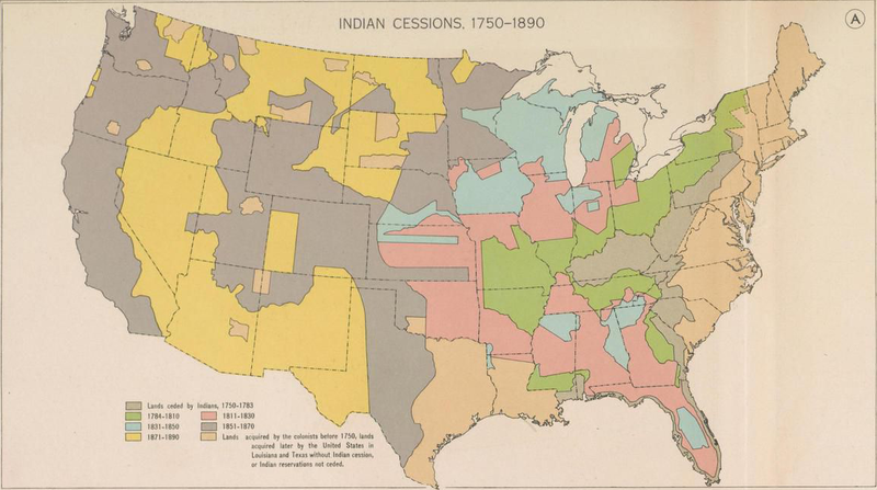 history of native americans from 1750 1800